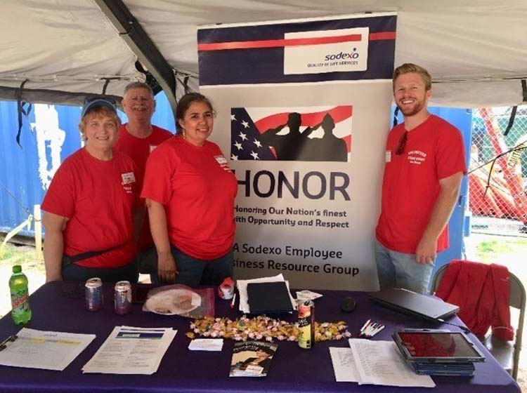 Sodexo Provides More Than 1,000 Meals to Homeless Veterans at San Diego Stand...
