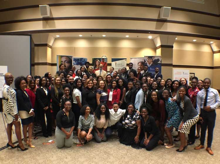 UNCF Brings 70+ Diverse HBCU Students Together for Annual Student Leadership Con...