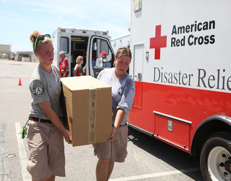 Corporations and Organizations Help American Red Cross Prepare for and Respond t...