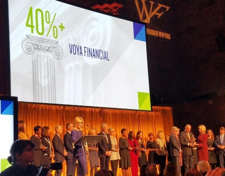 Voya Financial Recognized by Women