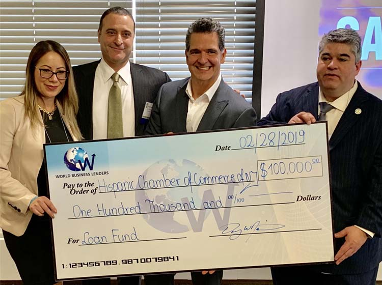 SHCCNJ and World Business Lenders Announce Innovative Plan to Provide Greater Access to Capital for Hispanic Small Business Owners and Entrepreneurs